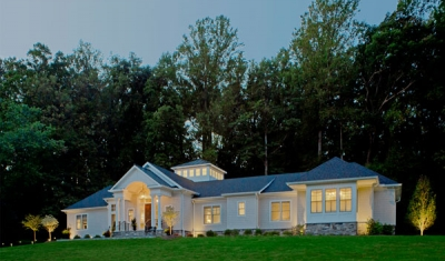Architect designed home in Stevenson, MD by 2e Architects