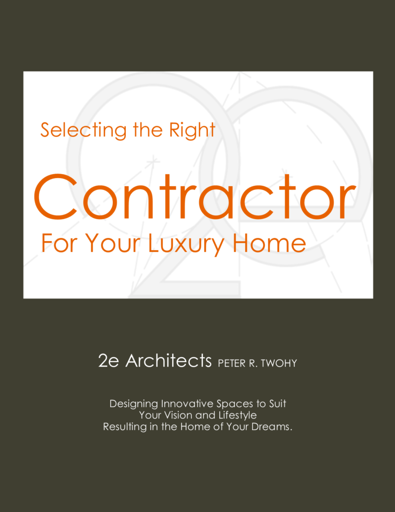 2e Architects guidebook for finding great contractors in the Greater Baltimore Area