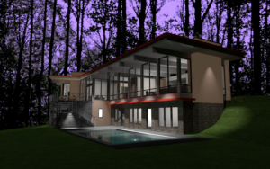 Home design using photo-realistic 3D imagery