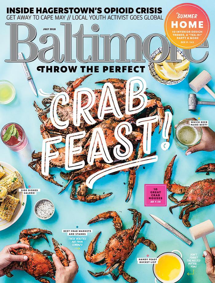 Baltimore Magazine, July 2018