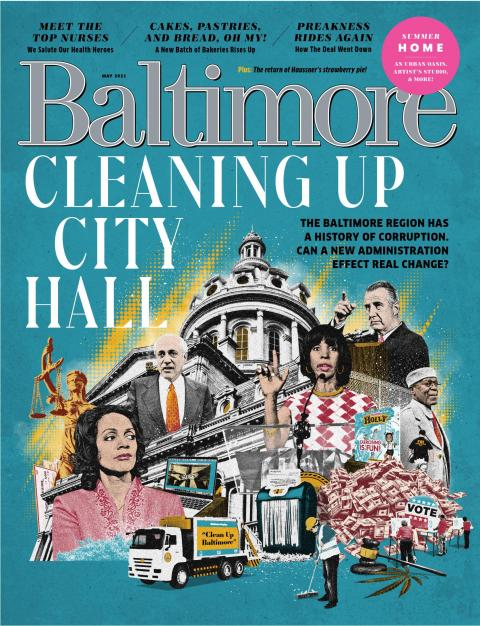 Baltimore Magazine May 2021 Features 2e Architects Lutherville, MD project