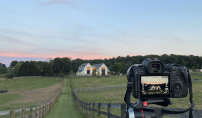 Coming soon. Photography of newly built modern farmhouse in Northern Maryland by architect Peter Twohy