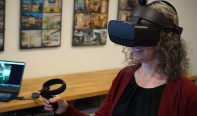 What's it like to Wear Virtual Reality goggles